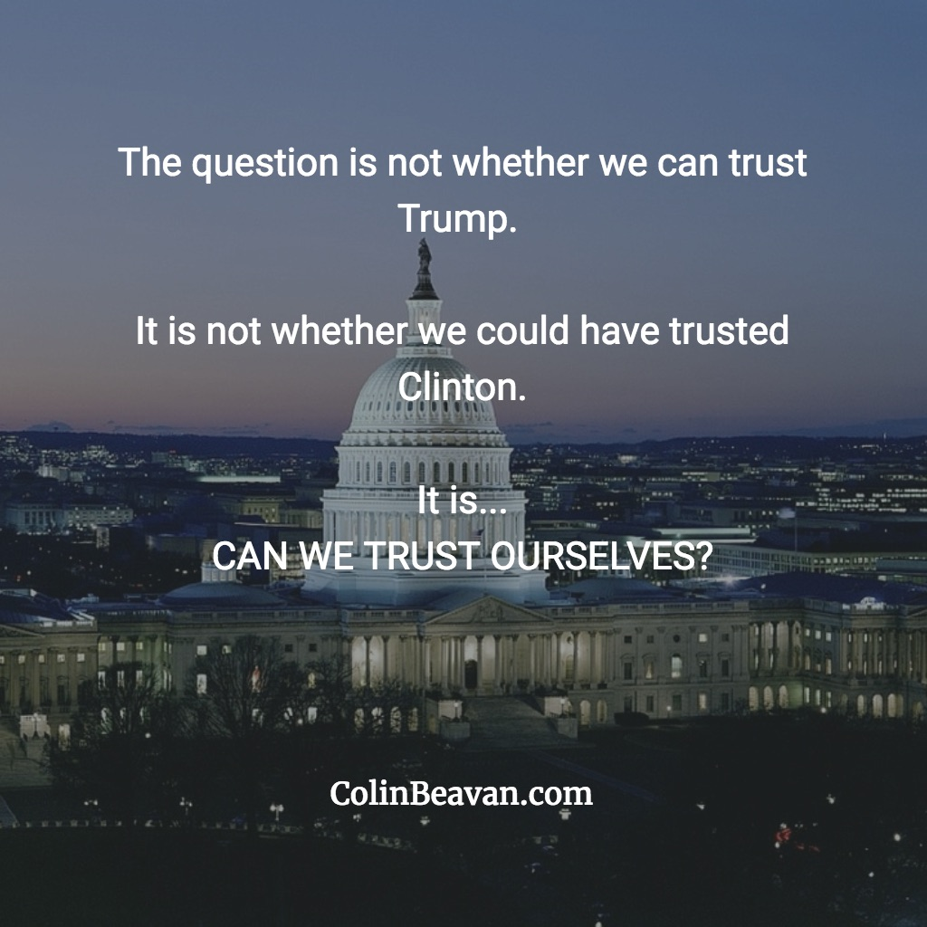 Can we trust ourselves?