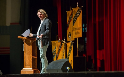 Colin Beavan at Purdue